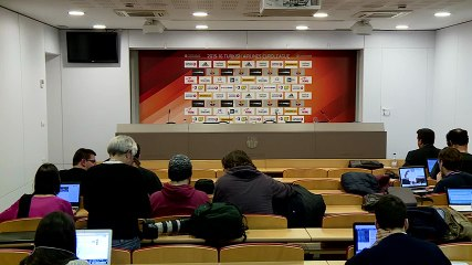 LIVE - Xavi Pascual and Giannis Sfairopoulos post game press conference (FCB Lassa - Olympiacos) (9)