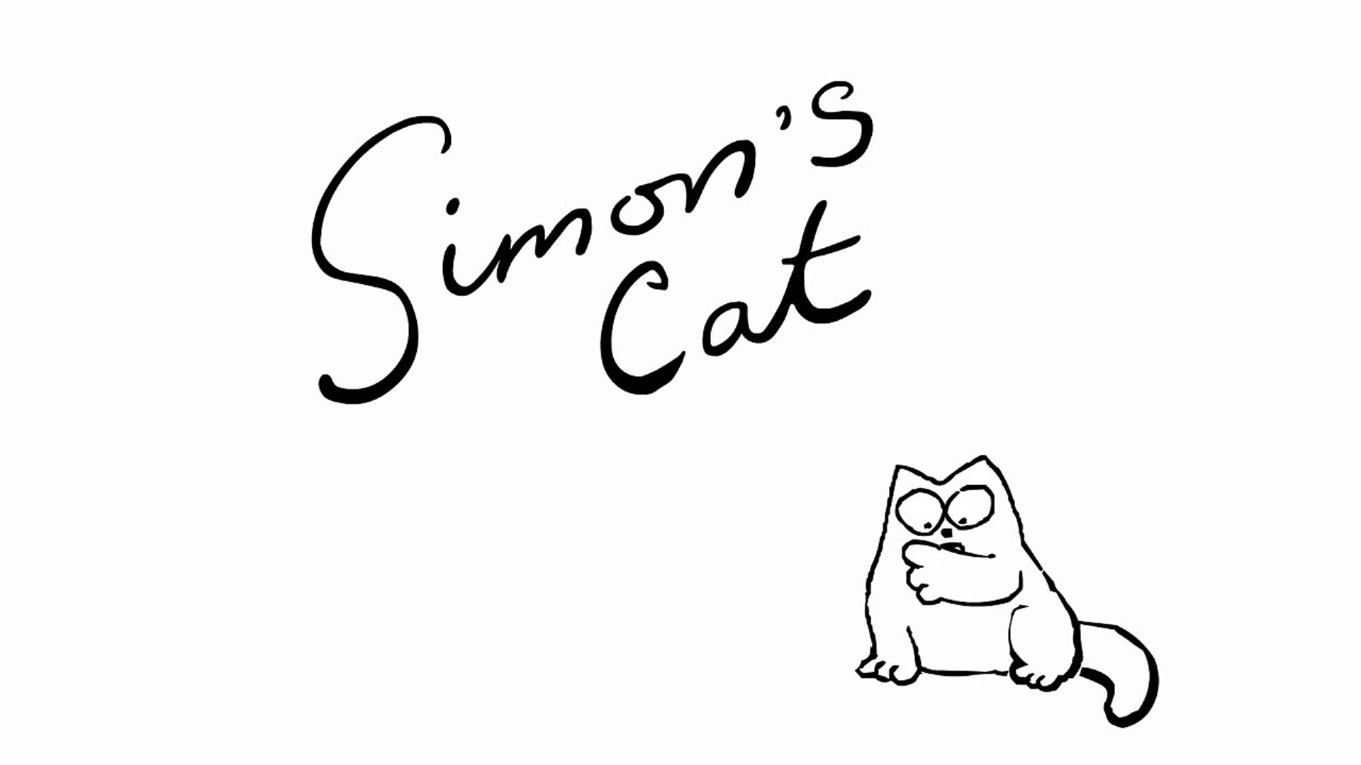 Nut Again Simons Cat Video Dailymotion