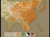 Carte religions du monde 2000