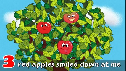 Way Up High in an Apple - Apple Song for Kids - Childrens Song by The Learning Station