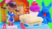 Play-Doh Disney Doc McStuffins Clinic - Make Playdo Lambie Stuffy Clínica de la Doctora Juguetes