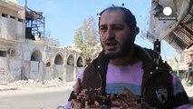 بمباران حلب در آستانه برقراری آتش بس در سوریه