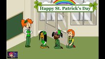Caillou gets Grounded on St. Patricks Day