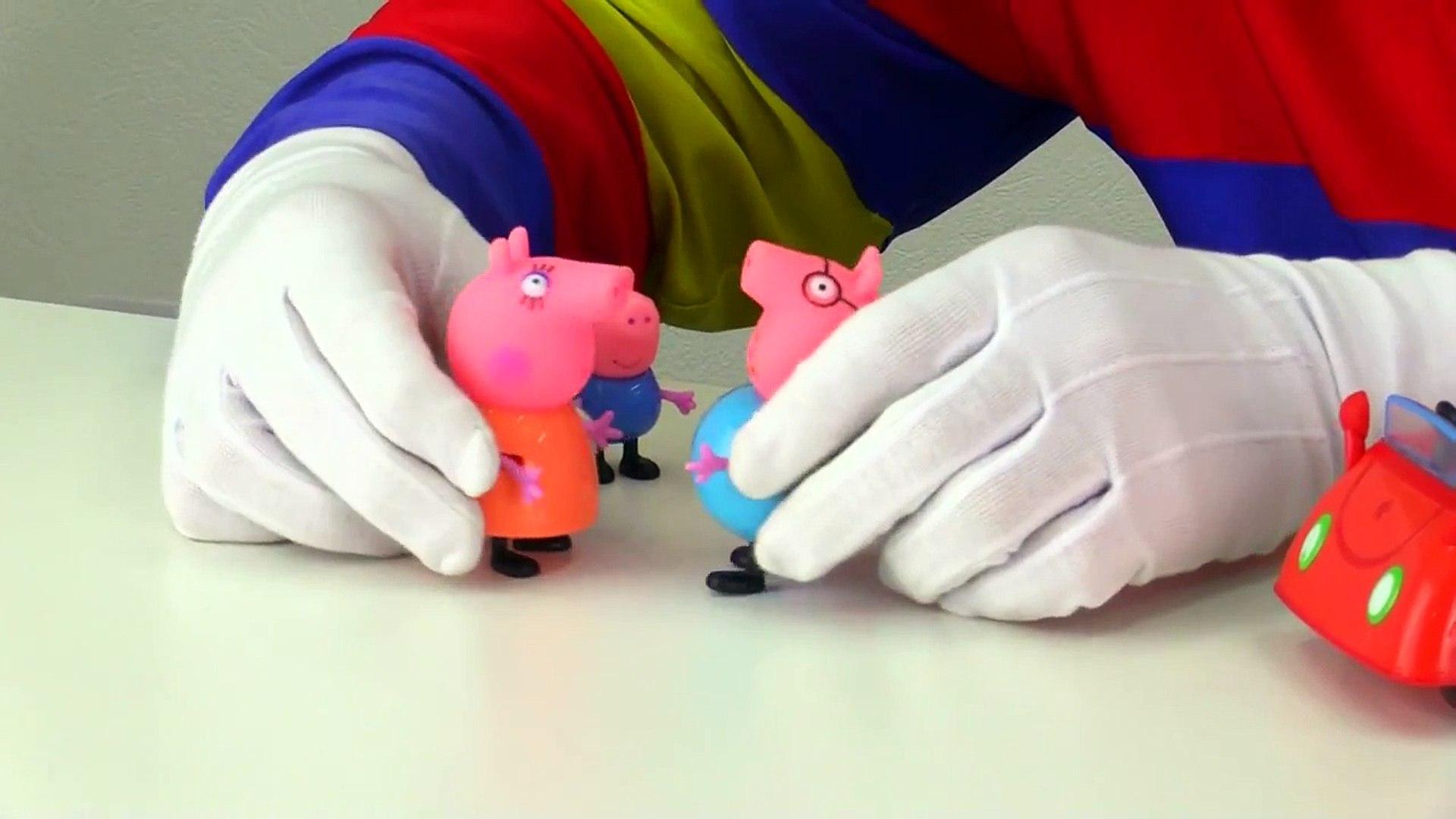 Свинка Пеппа. Клоун Дима. Видео для детей. Игрушки для детей