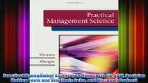 FREE PDF   Practical Management Science Revised with CDROM Decision Making Tools and Stat Tools FULL DOWNLOAD