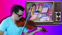 90s TV Theme Songs Violin Mashup - Rob Landes