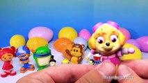 PAW PATROL, Team Umizoomi, Julius Jr Surprise Eggs with Peppa Pig & Wallykazam Surprise