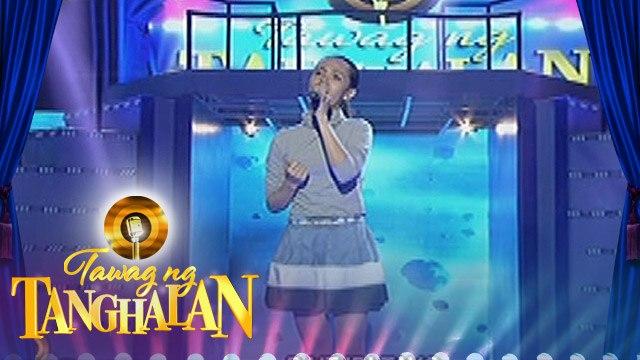 """Tawag ng Tanghalan: Stephanie Cagang - """"Nakapagtataka"""""""
