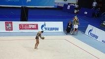 Российская Художественная гимнастика номер 1 в мире ! Невероятное исполнение !