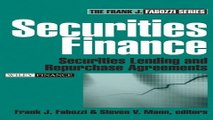 Download Securities Finance  Securities Lending and Repurchase Agreements