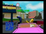 Simpsons Road Rage Gameplay Hard Mode using Homer Simpson (Playstation 2)