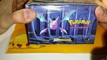 Présentation dun Display Pokémon Neo Revelation Français : Oui, Français !