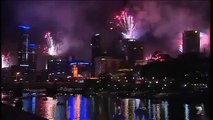 Melbourne, Australia 2016 New Year Fireworks Full Show HD