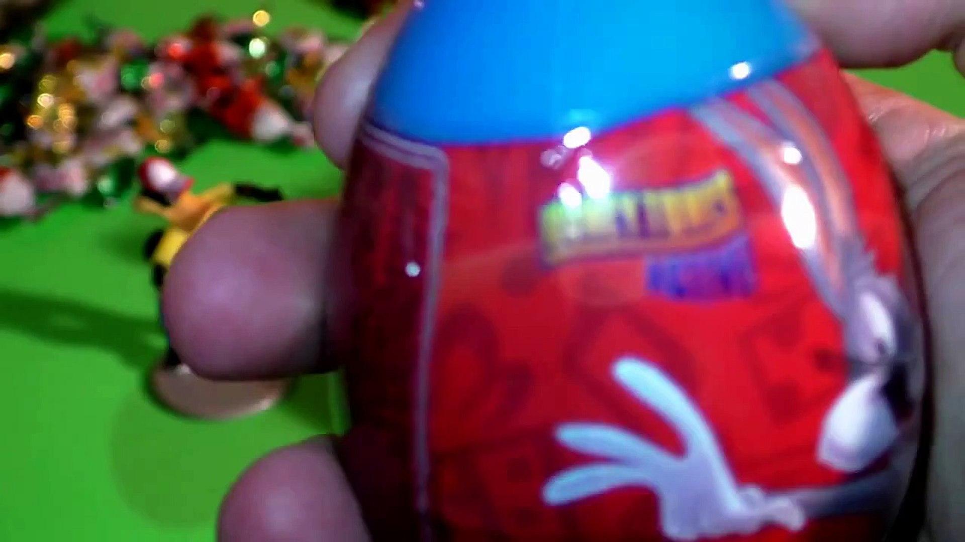 Looney Tunes Bugs Bunny Daffy Duck Tasmanian Devil Warner Brothers surprise eggs