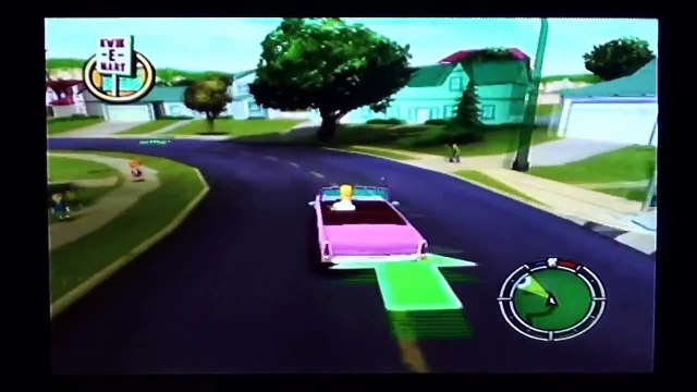 The Simpsons Hit & Run (PS2) Part 1 - Grand Theft Simpsons