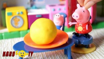 Колобок и Свинка Пеппа мультики для самых маленьких