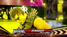 Stardust vs Zack Ryder, WWE Superstars 26.02.2016