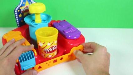 Play-Doh Poppin Movie Snacks Popcorn Play Doh Movie Treats Popsicle Hot Dog Fries Ice Cream