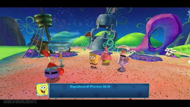 Spongebob Squarepants: Planktons Robotic Revenge - Walkthrough Gameplay - Episode 1 - HD 1080p