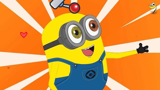Minions Banana Kit Funny Cartoon ~ Minions Mini Movies 2016 [HD] Video