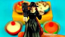Halloween Play-Doh Cupcakes Dessert Surprise Eggs Peppa Pig Shopkins Sweets & Treats Toys FluffyJet