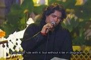 """""""Ye Payam Day Gai He""""  Pakistani Singer Shafqat Amanat Ali  Sad Song"""