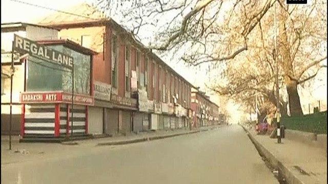 Shutdown observed in Kashmir Valley