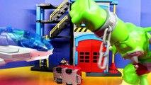 Imaginext Batman Superman Disney Pixar Cars Lightning McQueen Mater Krypto Ace Dog Save Fire Station