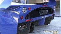 Maserati MC12 Start Ups & Fly Bys On Track