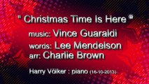 CHRISTMAS TIME IS HERE - Weihnachtslied - Christmas Song - jazzy Christmas - piano - Harry Völker