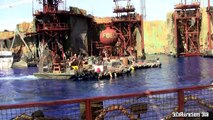 [HD] New! Updated WaterWorld Show 2014 Universal Studios Hollywood