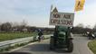 Nddl : départ des vélos et tracteurs à midi de l'Erette