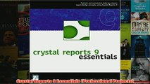 Download Crystal Reports 9 Essentials (Professional Projects