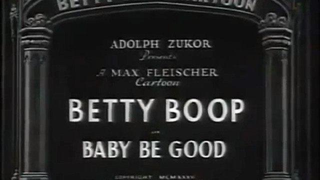 Betty Boop: Baby Be Good (1935)