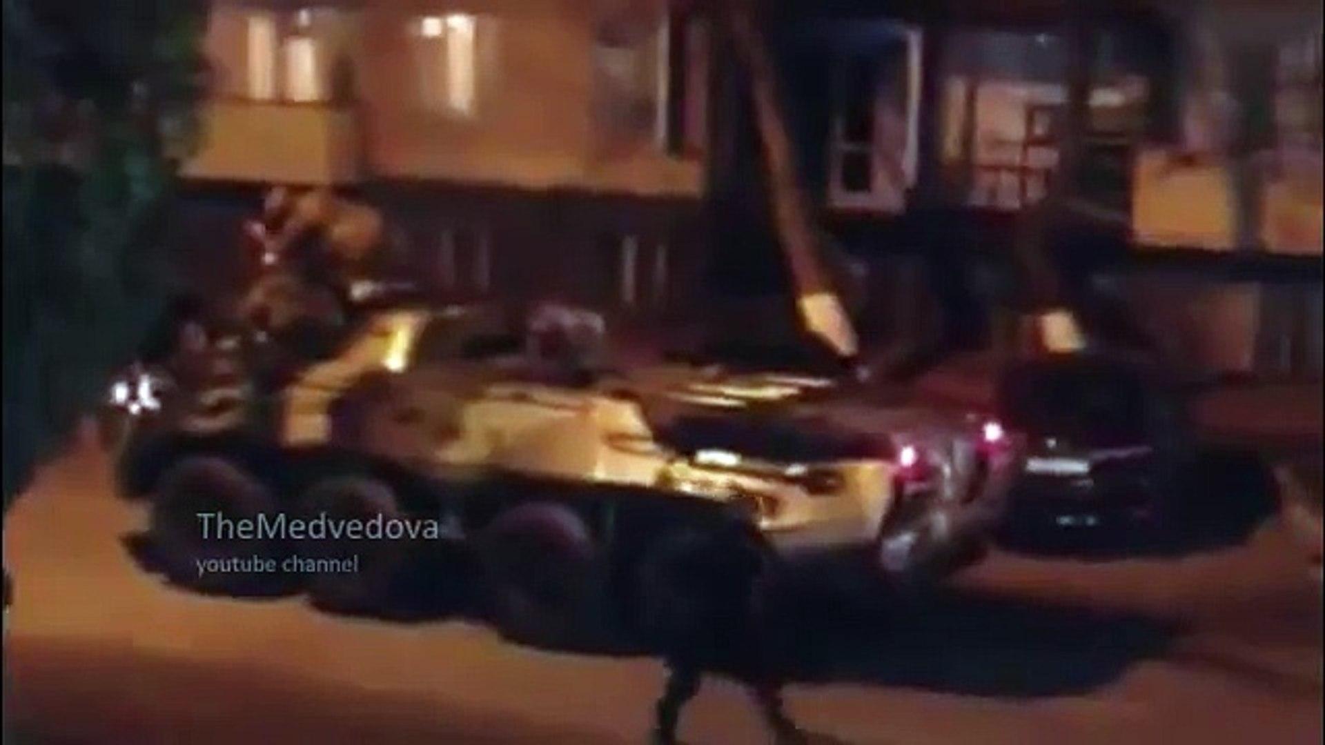 Грозный стрельба в центре / Grozny fight in the center