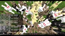Minecraft 1.8 Pre-Release: Bunny Shield, Wolves Hunt Rabbit, Bunnies Flee, Killer Rabbits Attack