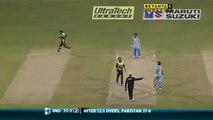 Two massive sixes by Sehwag to Afridi. Sehwag massive sixes against Pakistan Shahid Afridi bowling