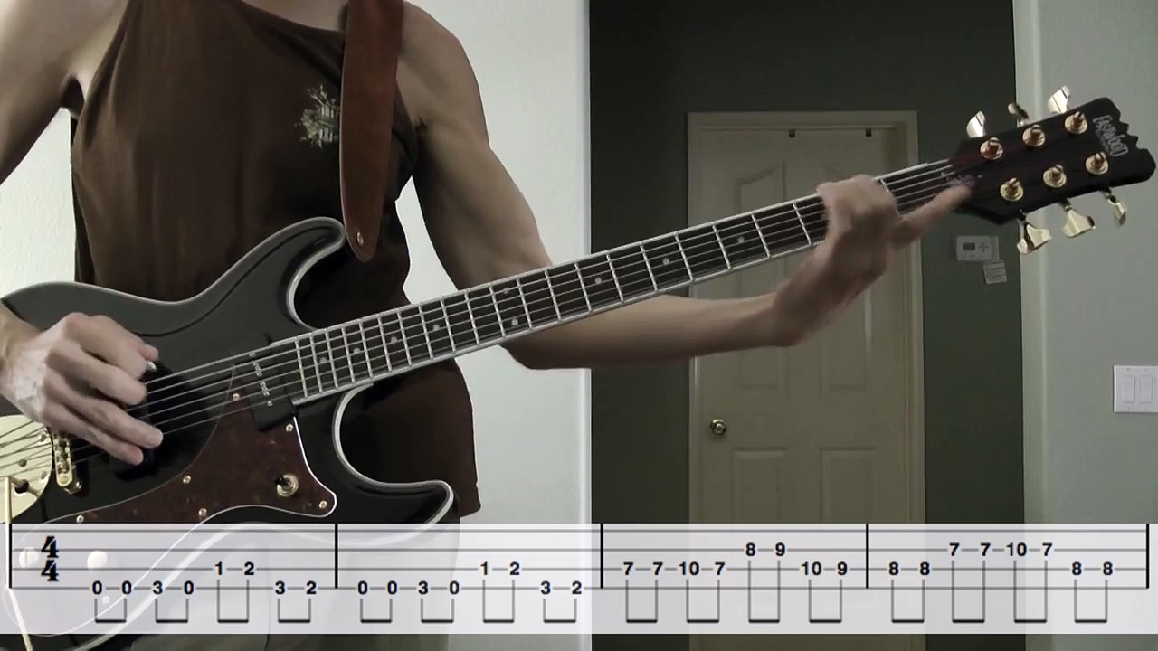 Munster Theme Song – Bass Guitar w/tabs