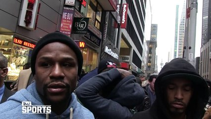 Floyd Mayweather -- I Love Amsterdam ... Yeah, I Hit the Red Light District