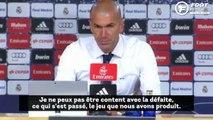 La grosse déception de Zinedine Zidane...