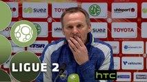 Conférence de presse Valenciennes FC - FC Sochaux-Montbéliard (2-2) : Faruk HADZIBEGIC (VAFC) - Albert CARTIER (FCSM) - 2015/2016