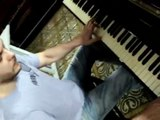 Popeye theme on piano - Popeye the Saylor Man Music