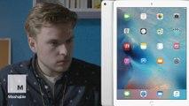 iPad Pro unboxing went horribly, horribly wrong