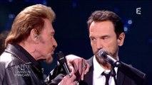 "Johnny Hallyday & Gerald De Palmas - ""J'ai pleuré sur ma guitare"" - FCF"