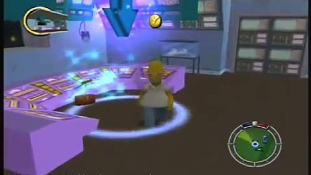 The Simpsons Hit And Run - Level 1 Mission 4: Blind Big Brother
