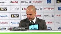 "Pep Guardiola: ""Großes, großes Kompliment"" | VfL Wolfsburg - FC Bayern München 0:2"