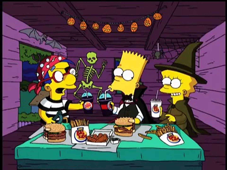 Burger King Simpsons Spooky Light Ups 2001 Usa Dailymotion Video