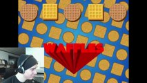 WAFFLES LOVE WAFFLES! - Reacting to Waffles : animated music video : MrWeebl
