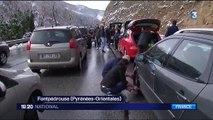 Pyrénées : des embouteillages sur la route des pistes