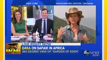 Good Morning America Uses Virtual Reality, Drone Technology to Go on African Safari